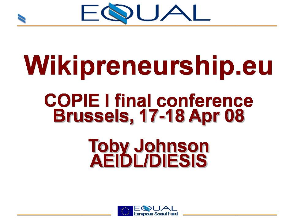 Wikipreneurship slide1.JPG